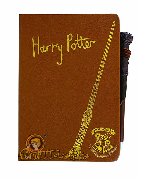 HARRY POTTER NOTEBOOK WITH PEN