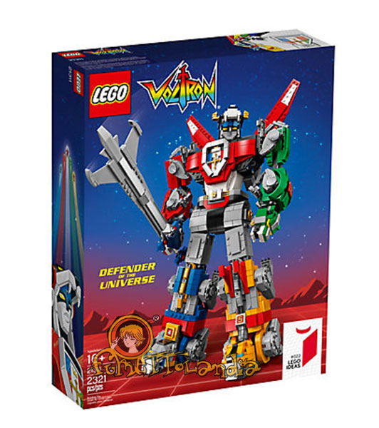 LEGO 21311 IDEAS #022 VOLTRON (GOLION) DEFENDER OF THE UNIVERSE