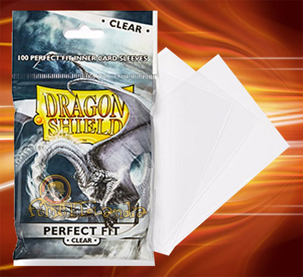 PROTECTORS DRAGON SHIELD PERFECT FIT CLEAR