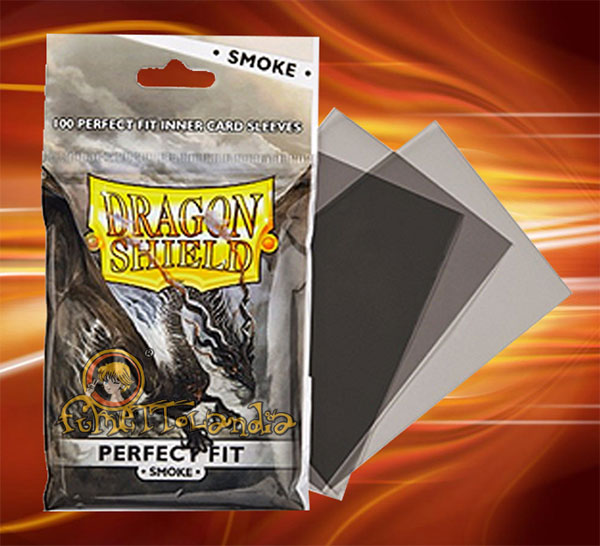 PROTECTORS DRAGON SHIELD PERFECT FIT SMOKE