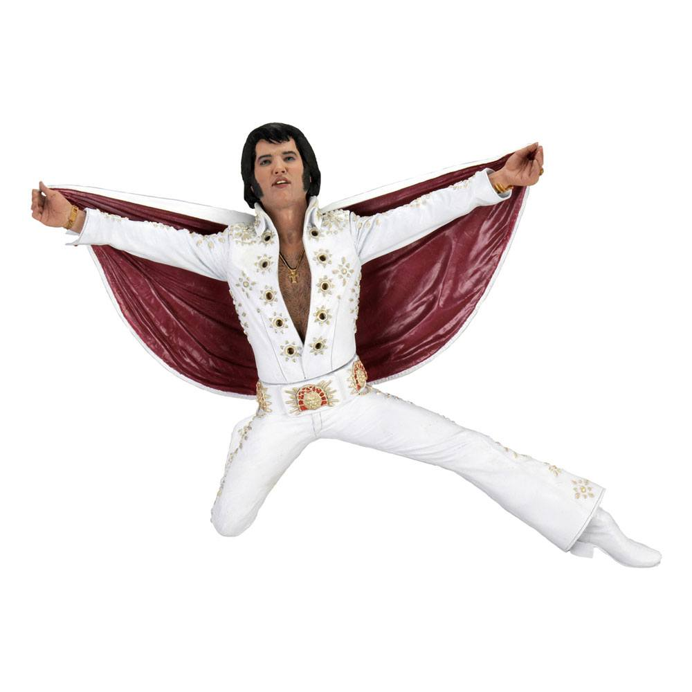ELVIS PRESLEY ACTION FIGURE LIVE IN ´72 18 CM