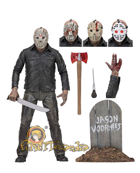 FRIDAY THE 13TH PART 5 ACTION FIGURE ULTIMATE JASON