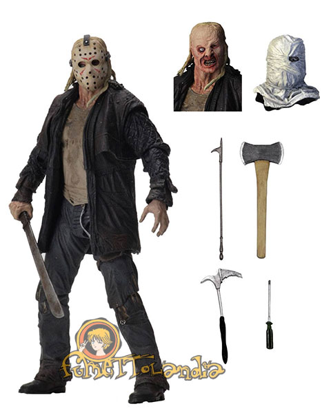 FRIDAY THE 13TH 2009 ACTION FIGURE ULTIMATE JASON