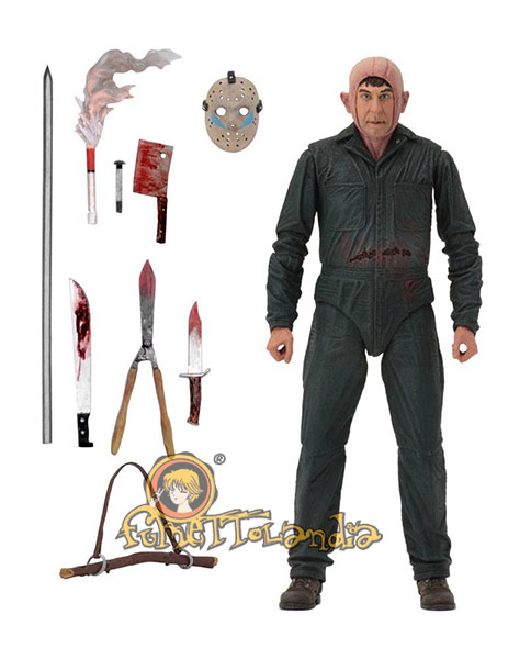 FRIDAY THE 13TH PART 5 ACTION FIGURE ULTIMATE ROY BURNS