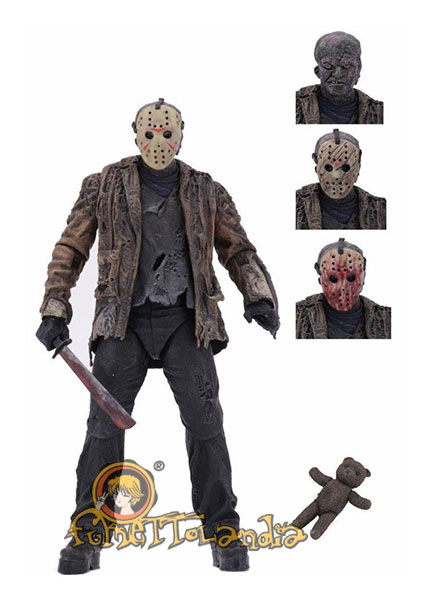 FREDDY VS. JASON ULTIMATE ACTION FIGURE JASON VOORHEES