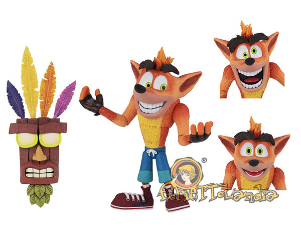 A.F. CRASH BANDICOOT ULTRA DELUXE
