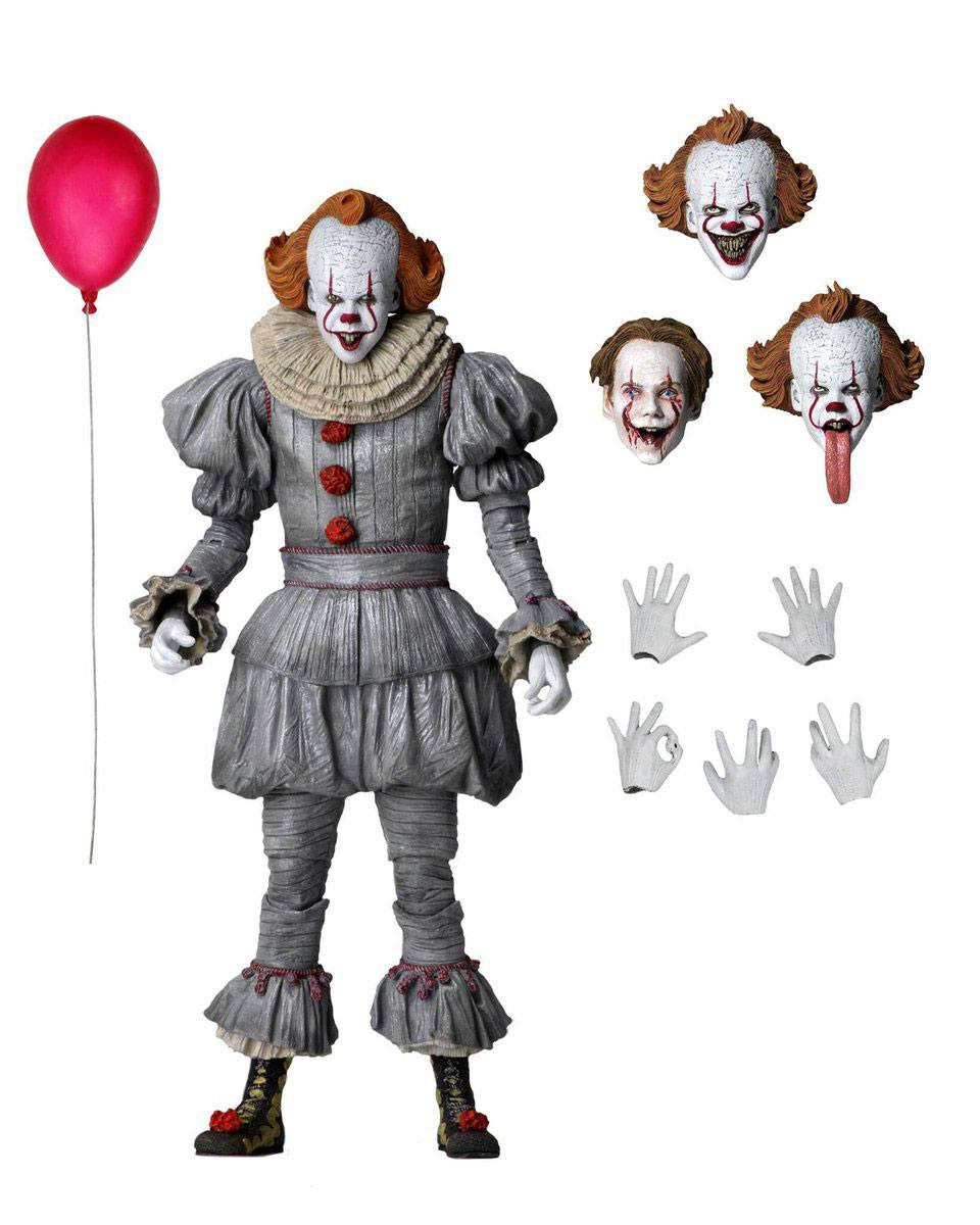 ULTIMATE PENNYWISE CHAPTER 2 ACTION FIGURE