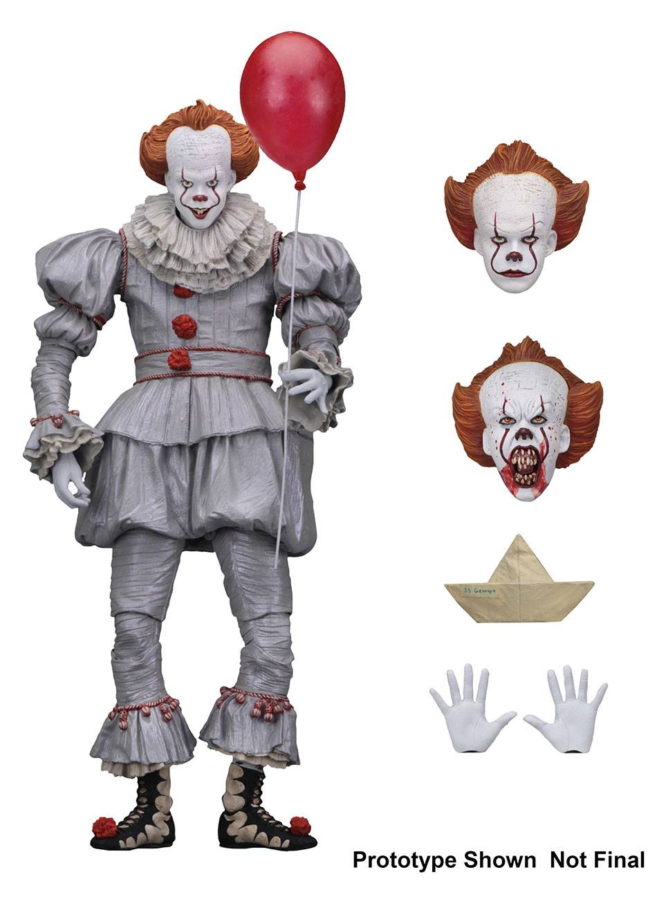 STEPHEN KING'S IT 2017 ACTION FIGURE ULTIMATE PENNYWISE