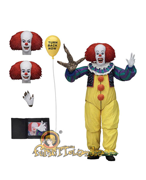 STEPHEN KING'S IT 1990 ACTION FIGURE ULTIMATE PENNYWISE VERSION