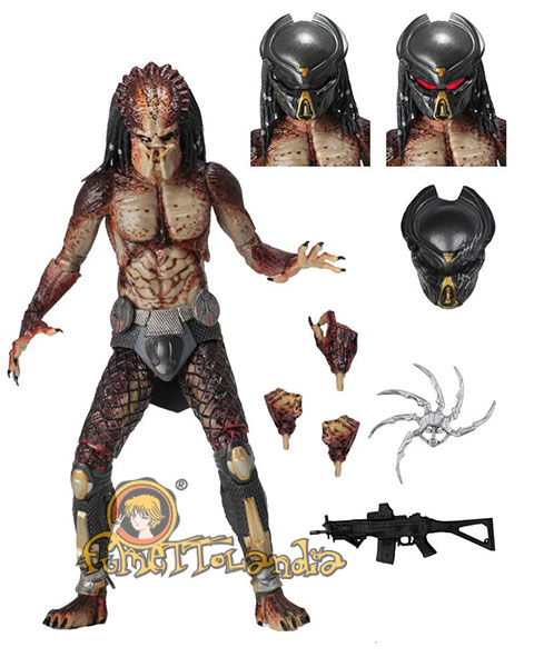 PREDATOR 2018 ACTION FIGURE ULTIMATE FUGITIVE PREDATOR (LAB ESCA
