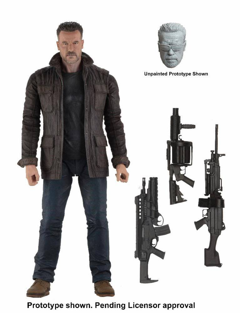 TERMINATOR: DARK FATE ACTION FIGURE T-800