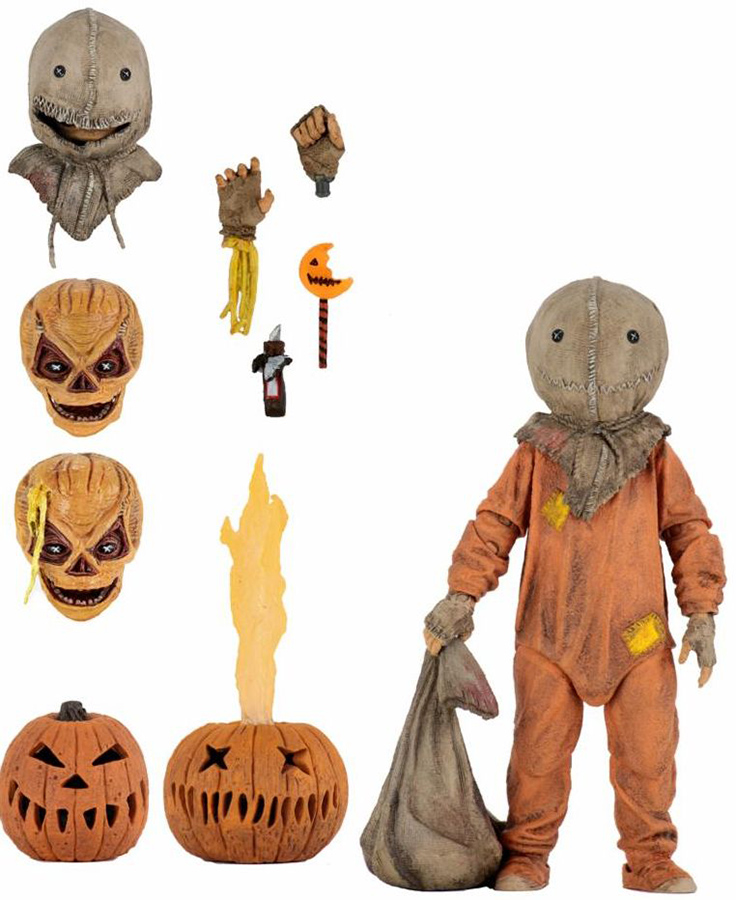 TRICK R TREAT ULTIMATE ACTION FIGURE SAM