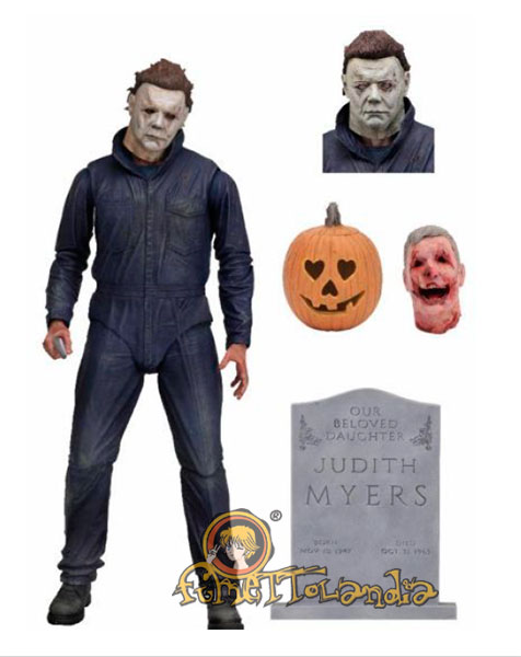 HALLOWEEN (2018) ULTIMATE ACTION FIGURE MICHAEL MYERS
