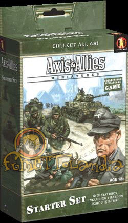 GAMES AXIS & ALLIES MINIATURES BASE SET STARTER