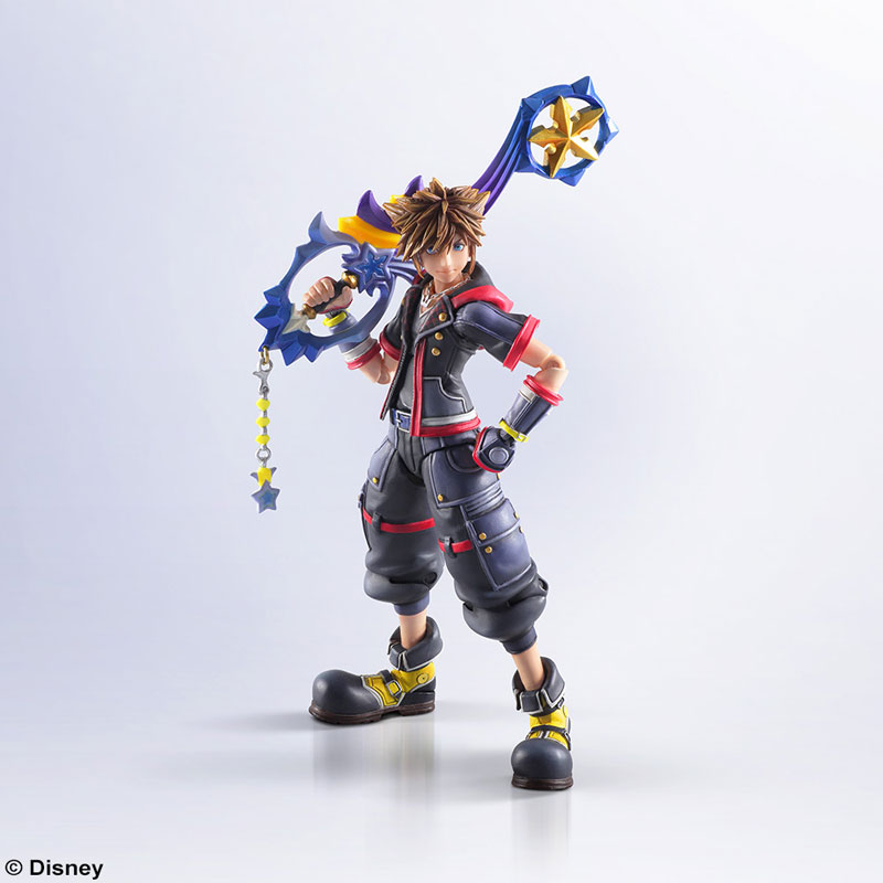 KINGDOM HEARTS III - BRING ARTS: SORA ACTION FIGURE