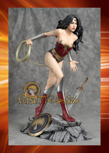 DC COMICS FANTASY FIGURE GALLERY STATUE 1/6 WONDER WOMAN (LUIS R