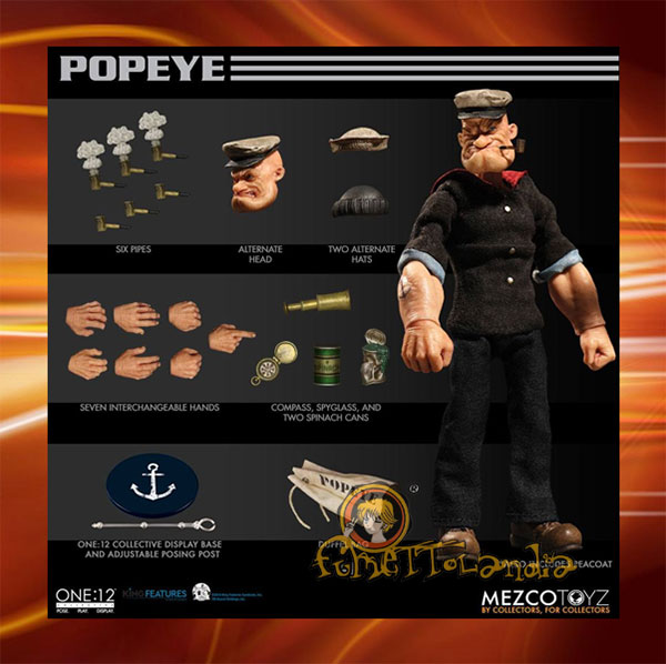 ONE:12 COLLECTIBLE POPEYE