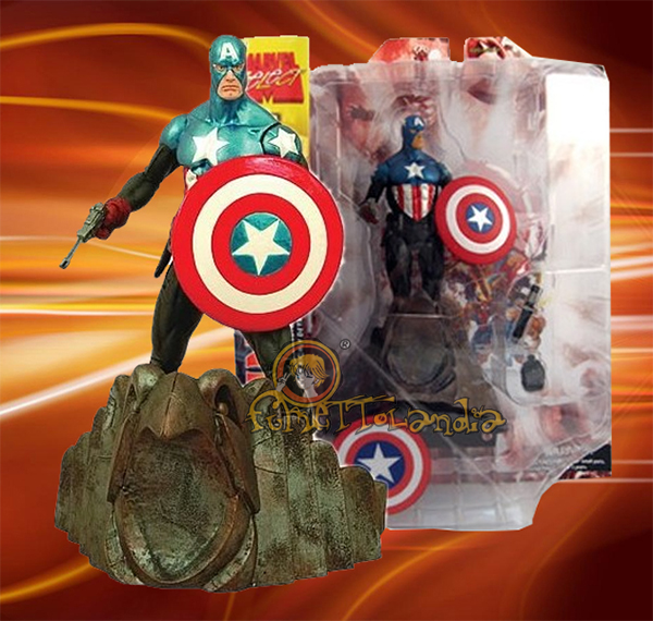 A.F. MARVEL SELECT CAPTAIN AMERICA