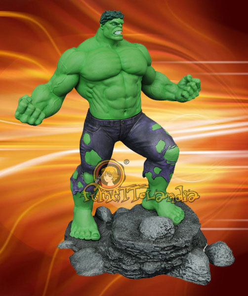 MARVEL GALLERY THE INCREDIBLE HULK PVC FIGURE