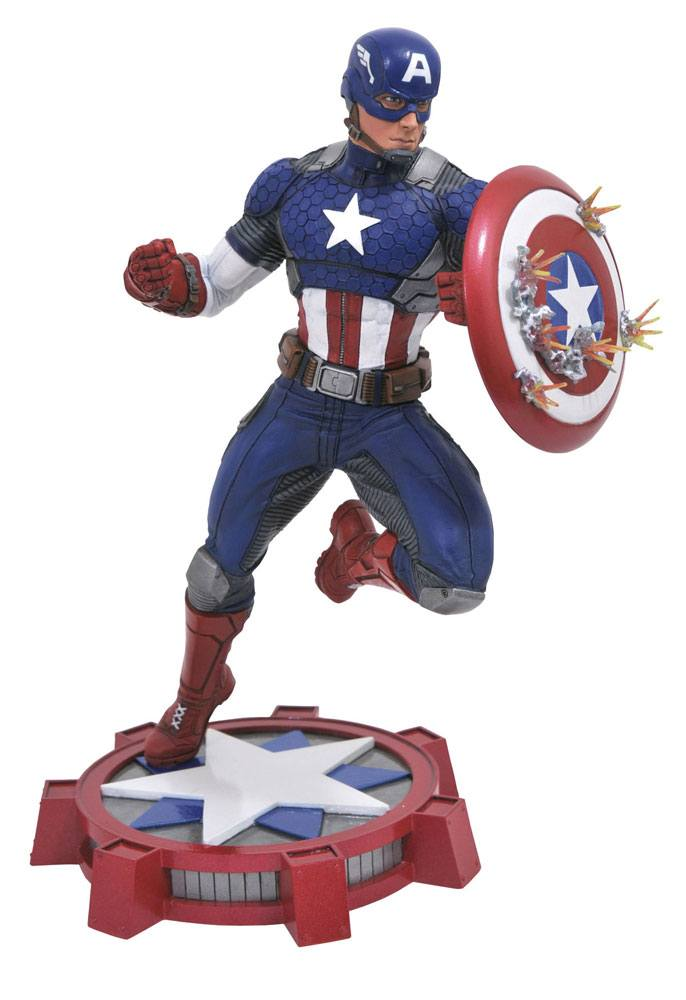 MARVEL MOVIE GALLERY AVENGERS: NOW PVC CAPTAIN AMERICA