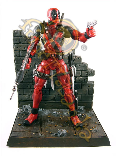 A.F. MARVEL SELECT DEADPOOL