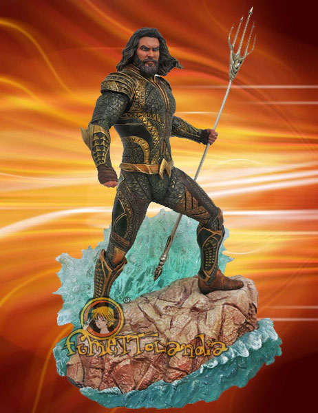 JUSTICE LEAGUE MOVIE DC GALLERY PVC STATUE AQUAMAN