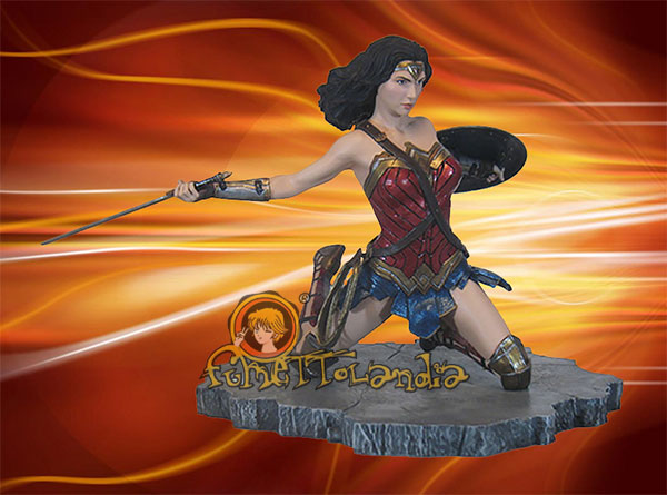 JUSTICE LEAGUE MOVIE DC GALLERY PVC STATUE WONDER WOMAN