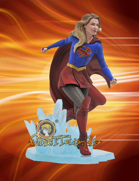SUPERGIRL TV DC GALLERY PVC STATUE SUPERGIRL