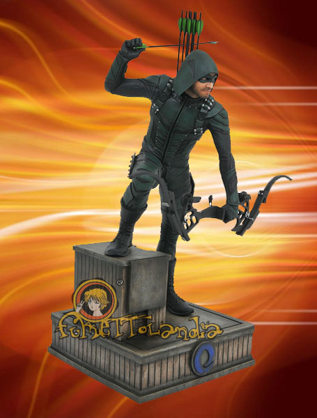 ARROW TV SERIES DC GALLERY PVC STATUE GREEN ARROW