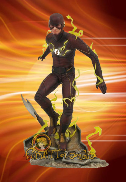 THE FLASH TV SERIES DC GALLERY PVC STATUE