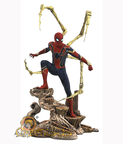 AVENGERS INFINITY WAR MARVEL MOVIE GALLERY PVC STATUE IRON SPIDE
