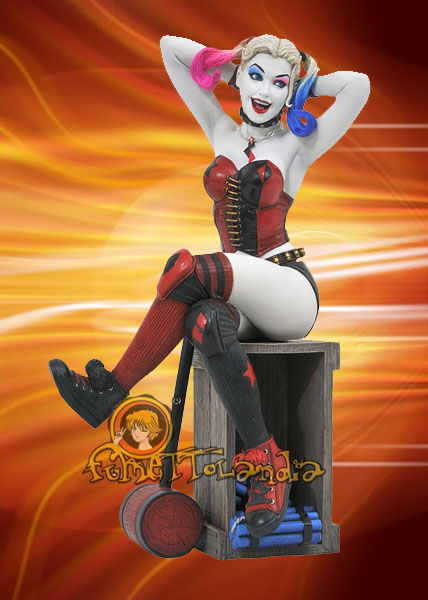 DC GALLERY PVC STATUE SUICIDE SQUAD HARLEY QUINN