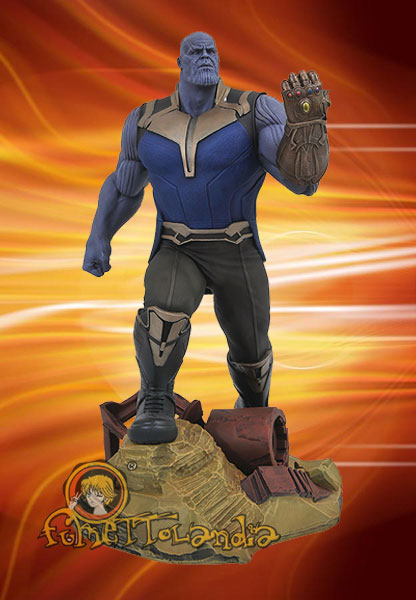 MARVEL GALLERY AVENGERS 3 THANOS STATUE