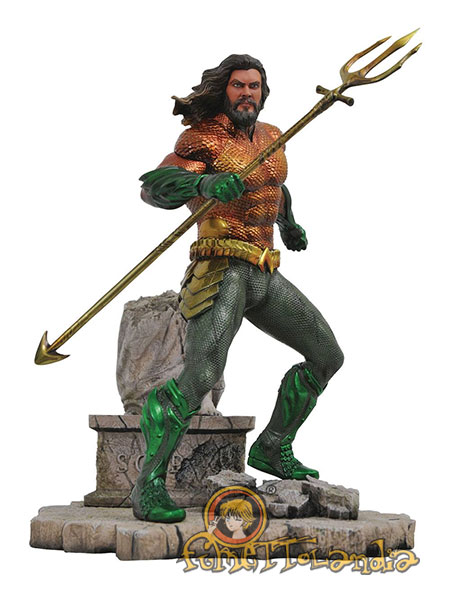 DC MOVIE GALLERY PVC STATUE AQUAMAN