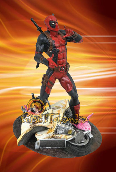 MARVEL GALLERY DEADPOOL TACO TRUCK PVC FIGURE