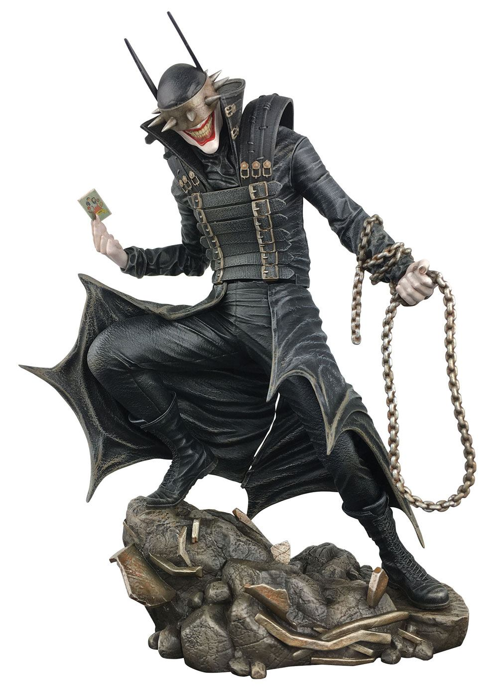 DC COMIC GALLERY PVC STATUE THE BATMAN WHO LAUGHS