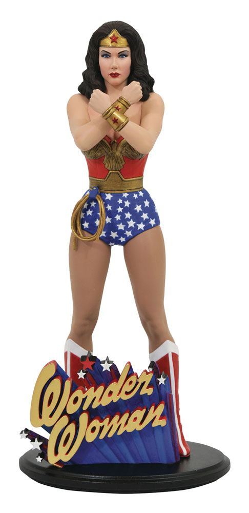 DC COMIC GALLERY PVC STATUE LINDA CARTER WONDER WOMAN