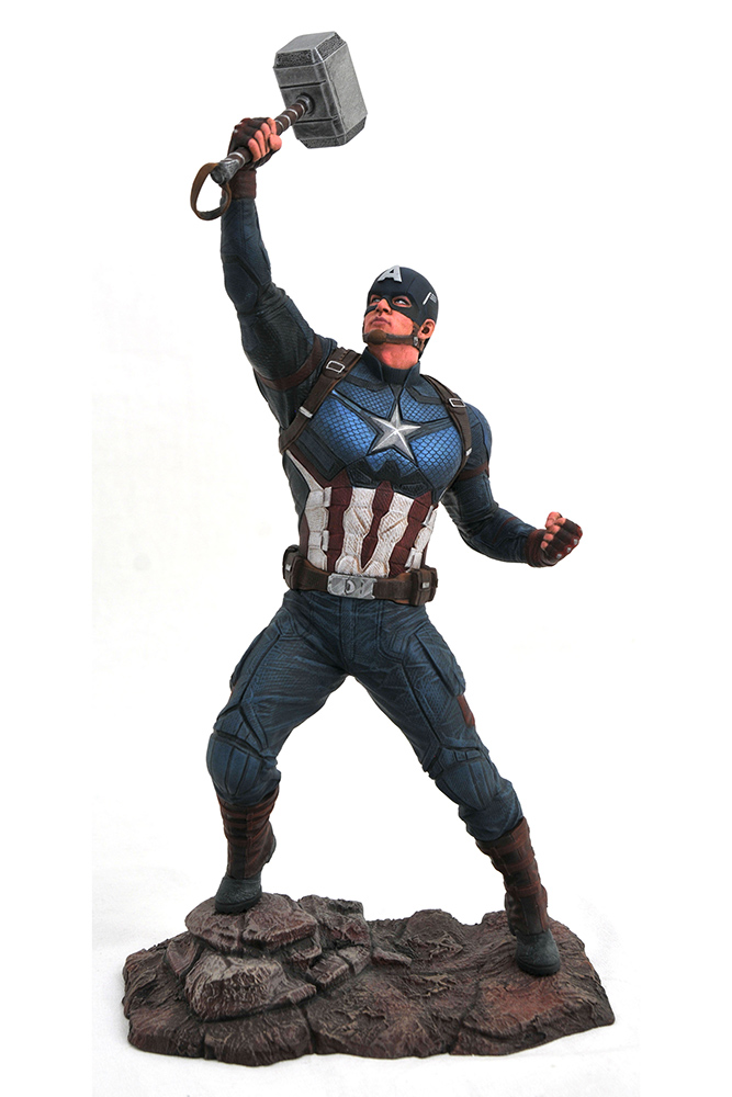 MARVEL MOVIE GALLERY AVENGERS: ENDGAME PVC DIORAMA CAPTAIN AMERI