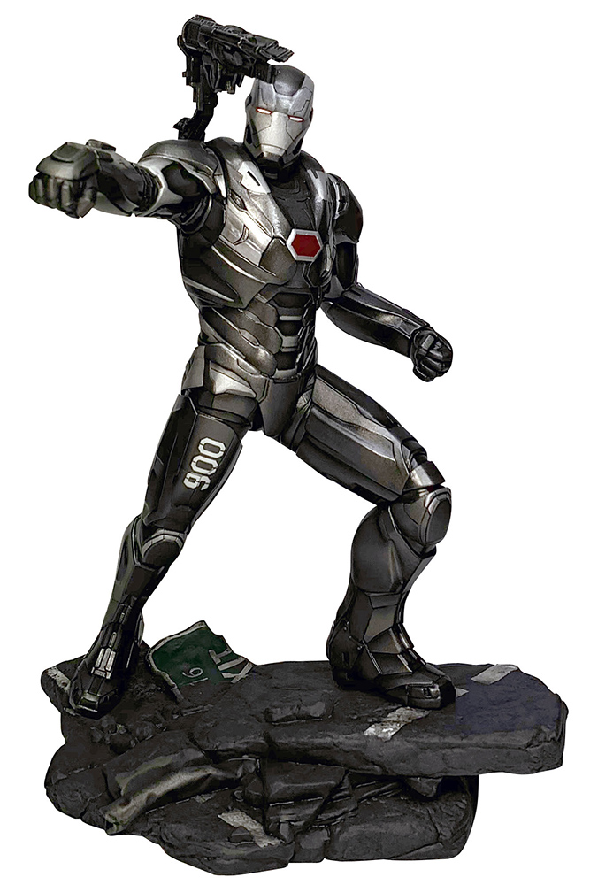 MARVEL MOVIE GALLERY AVENGERS: ENDGAME PVC DIORAMA WAR MACHINE