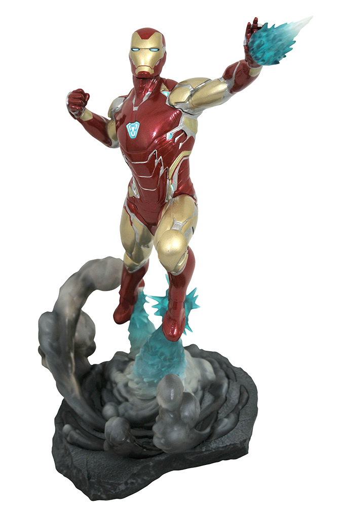 MARVEL MOVIE GALLERY AVENGERS: ENDGAME PVC DIORAMA IRON MAN MK85