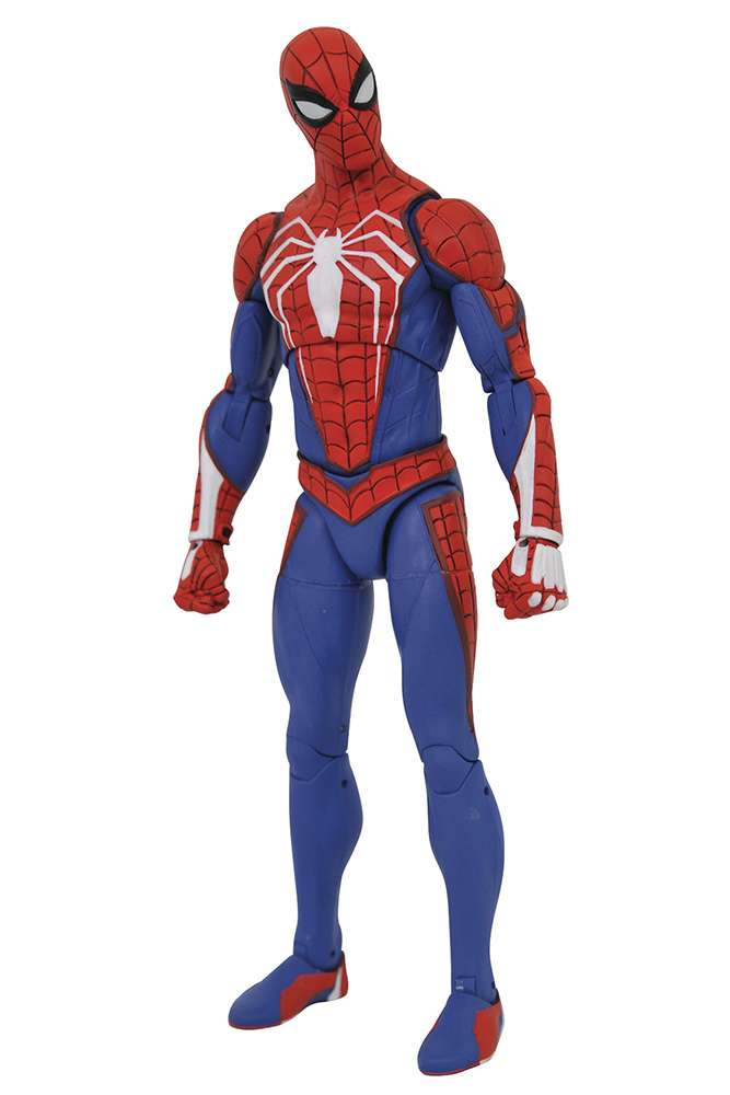 MARVEL SELECT SPIDER-MAN VIDEO GAME PS4