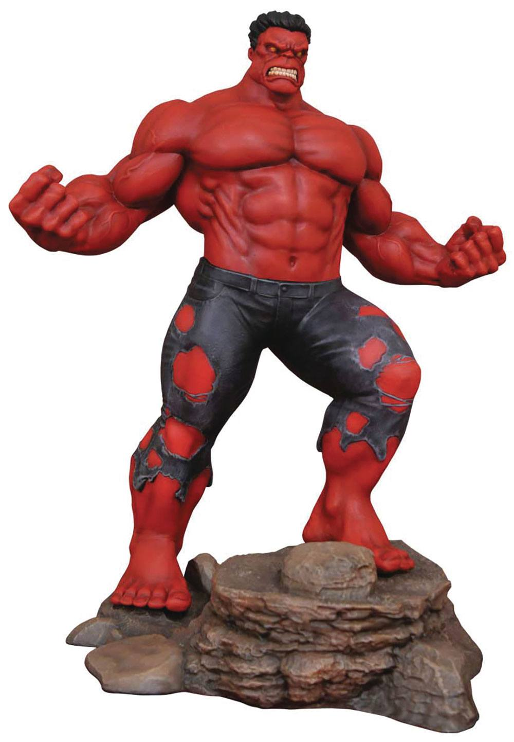 MARVEL GALLERY RED HULK PVC FIGURE