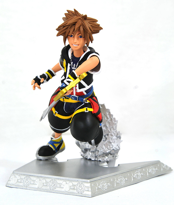 KINGDOM HEARTS GALLERY SORA PVC STATUE