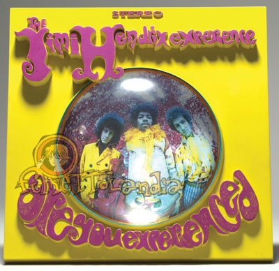 A.F. POP CULTURE JIMI HENDRIX ALBUM COVER