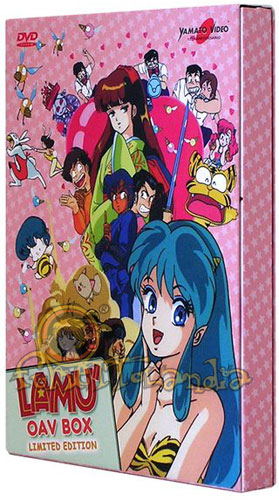DVD LAMU\' OAV BOX LIMITED