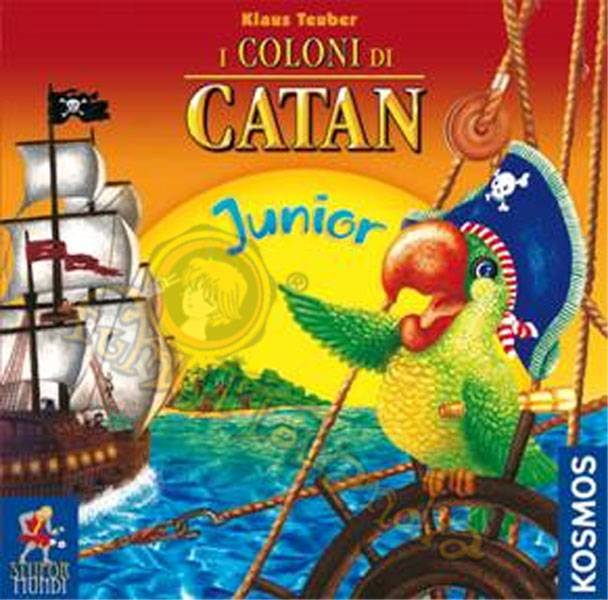 GAMES COLONI DI CATAN JUNIOR BASE (BOARD)