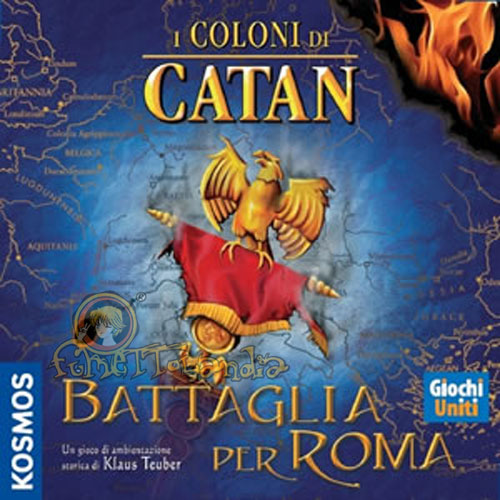 GAMES COLONI DI CATAN BATTAGLIA PER ROMA