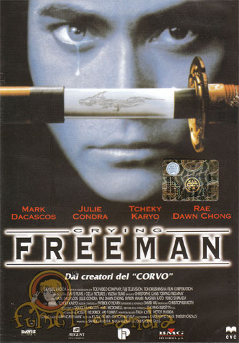 DVD CRYING FREEMAN THE MOVIE