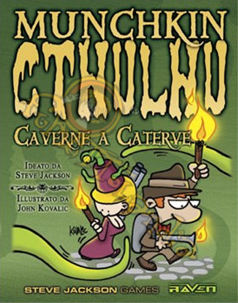 GAMES MUNCHKIN CTHULHU 4 CAVERNE A CATERVE
