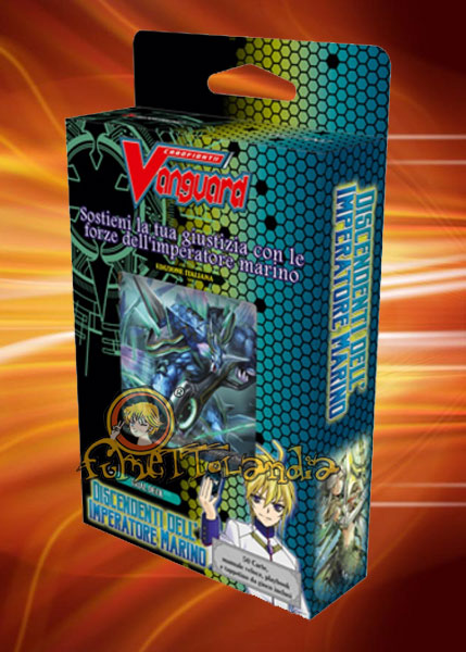 CARDFIGHT!! TD07 VANGUARD DISCENDENTI DELL'IMPERATORE MARINO MAZ